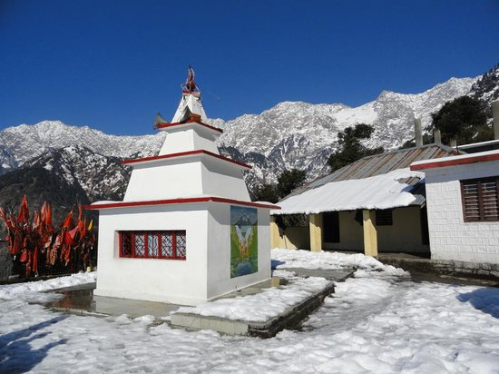 McLeod Ganj, India: Main temple Guna mata