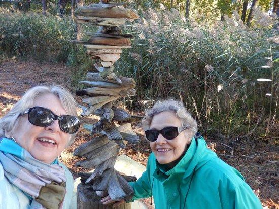 Inn at Huntingfield Creek: Nature art from Field Materials!
