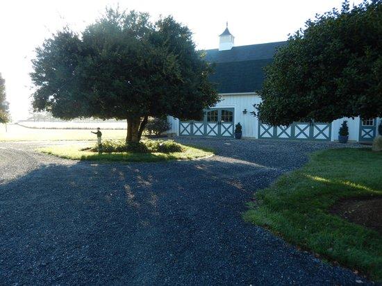Inn at Huntingfield Creek: Barn on property...