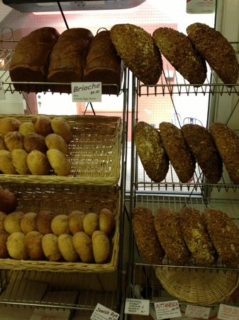 Walla Artisan Bakery & Cafe: Lots of Fresh Baked Bread
