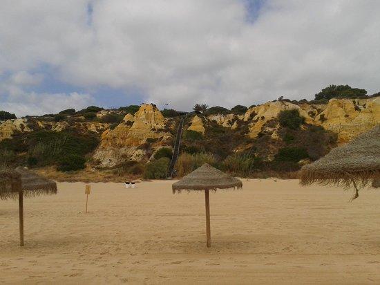 PARADOR DE MAZAGON: Desde la playa.