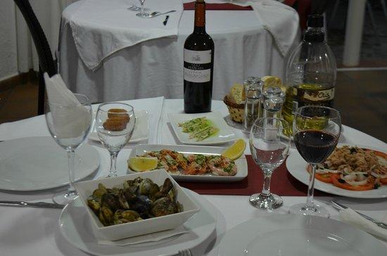 Restaurante Cristina : comedor interior