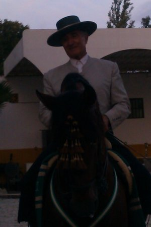 Centro de Equitación El Ranchito: horse and rider