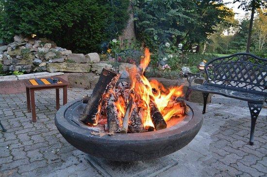 Swiss Woods: Nice Firepit