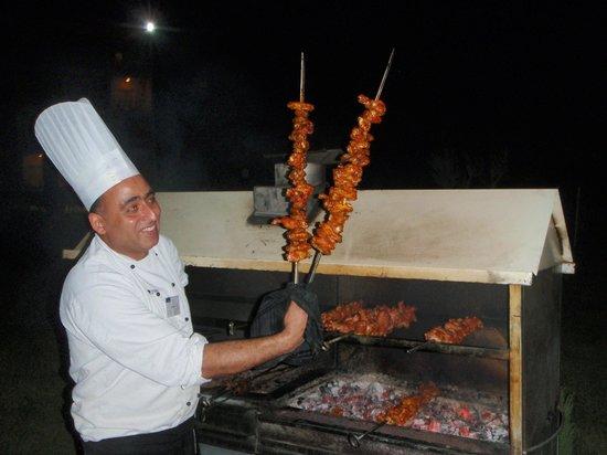 SENSIMAR Scheherazade: BBQ on the patio - lovely!