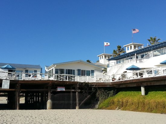 view of 19 from the beach below picture of crystal pier hotel rh tripadvisor com