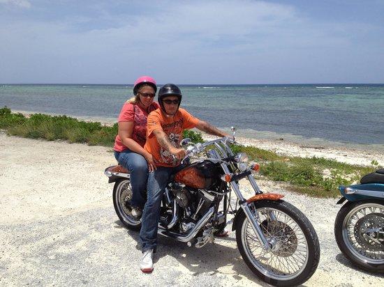 Cayman Custom Cycles Island Tours: Cayman custom tour August 2013