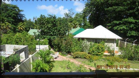 Casa De Leela : Blick von der Terrasse