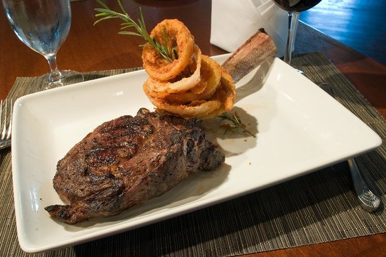 Davio's: Long Bone Steak