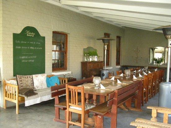 Dalmore Farm Guest House: Hier gibt es das Abendessen