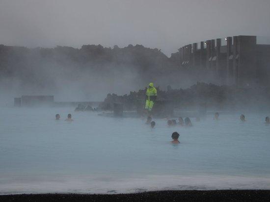 Blue Lagoon Iceland: Lifeguard!!