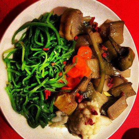 La Dolce Vita: Panache de Verduras... Impresionante...