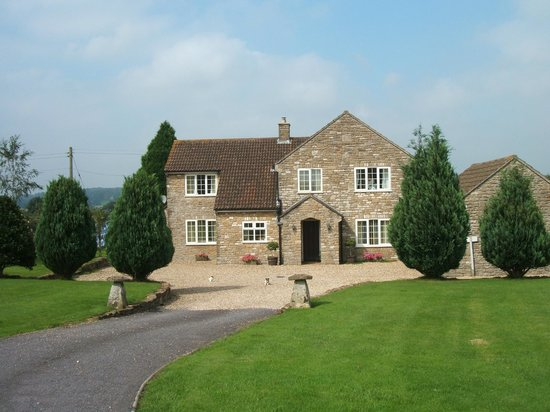 Croftlands Bed and Breakfast: Front of the croftlands b&b in from