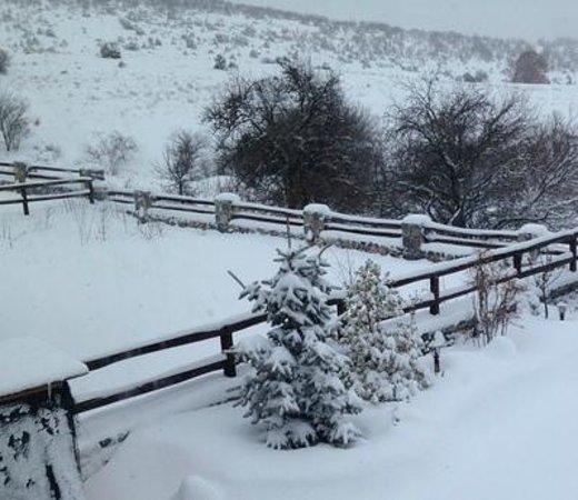 Hotel Voras 1 : χιονι
