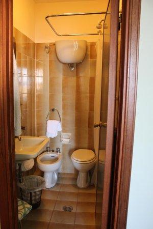 Roma Hotel : The bathroom (it is tiny)
