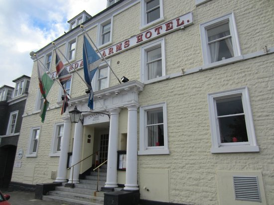 Annandale Arms Hotel: hotel front