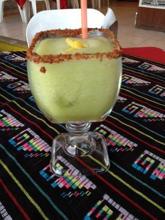 Monchis: Pineapple cilantro Marguerita
