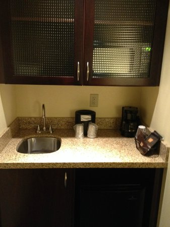 SpringHill Suites Lehi at Thanksgiving Point: Sink in room