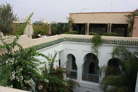 Riad Idra : Terrasse du Riad