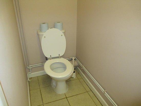 Forge Accommodation: Basic bathroom..