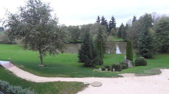 Château Sainte Sabine : le parc