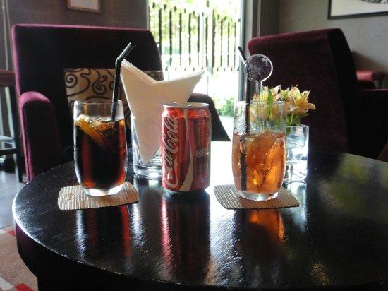 Pousada de Mong-Ha : welcome drinks