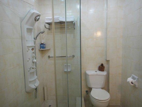 Pousada de Mong-Ha: shower