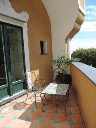 Hotel Savoia: terrace