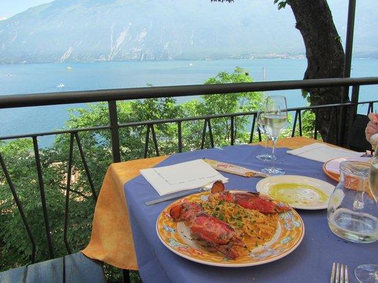 Ristorante Alla Noce: Alla Noce Lobster pasta dish
