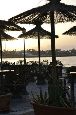 Beach Cafe: sunrise