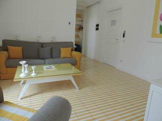 Palazzo Jannuzzi Relais: living area