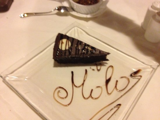 Molos Restaurant: Great Sweets