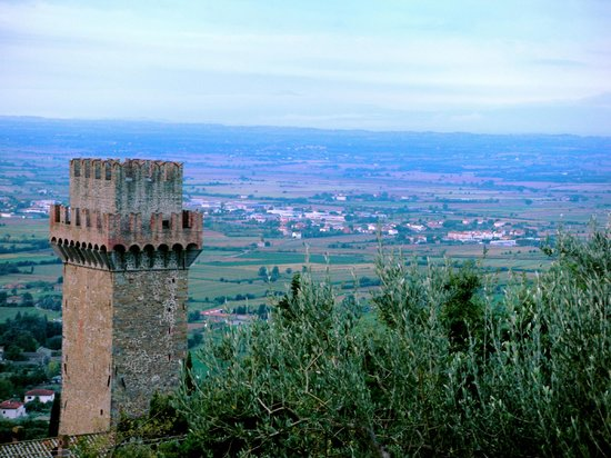 Casale della Torre: View of the Torre