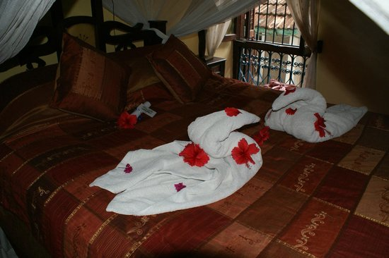 Zanzibar Palace Hotel: lots of attention to details