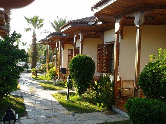 "Asur Hotel & Aparts & Villas: Our ""street"""