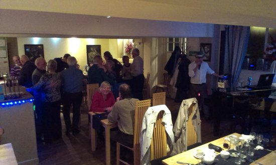 The Courtyard Restaurant: Diners enjoyed a dance on a Saturday night