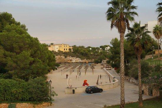Aparthotel Ferrera Blanca: View from swimming pool