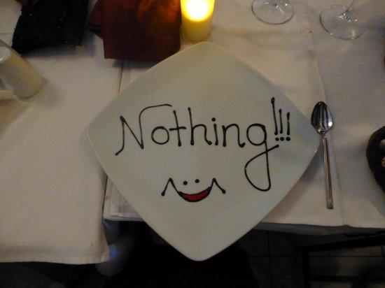 Sade Restaurant : The bill was a bit expensive!!