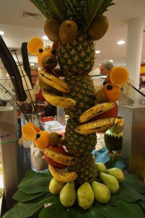 Aparthotel Ferrera Blanca: Fruit monkeys