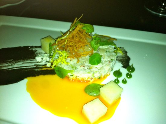 Forty 1⁰ North : Peeky Toe Crab appetizer