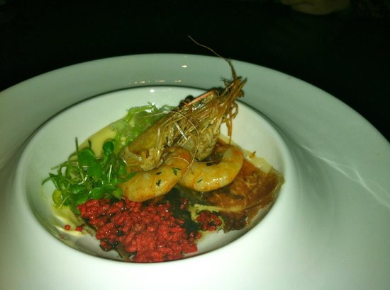 Forty 1⁰ North : Prawn appetizer