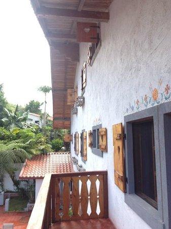 La Pequena Helvecia: Balcony