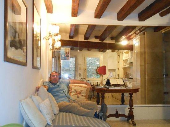 Ca' della Corte: Lounge/kitchen