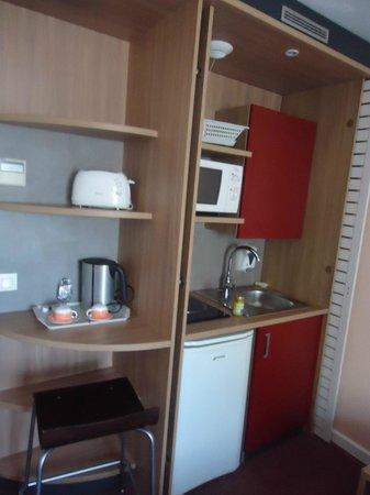 Canal Suites (Suite Home): cozinha