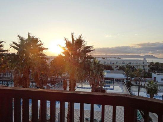 Barcelo Cabo de Gata : Amanecer desde la habitacion