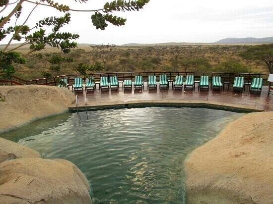 Seronera Wildlife Lodge: piscina