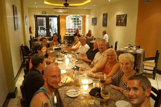Bravos Restaurant Bar: our Friday night group!
