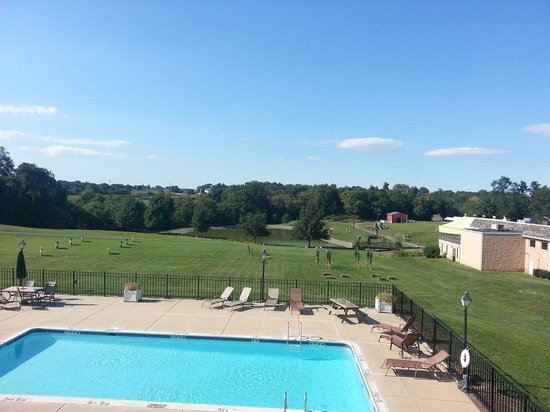 Hershey Farm Inn: Our view