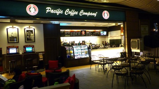 """company profile of pacific coffee In a later image revamp, the brand logo's color combo has been changed to red,  black and white and the word """"company"""" cut from the logo as we continue to."""