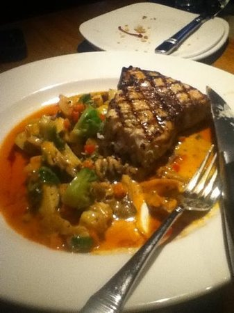 J. Gilbert's Wood-Fired Steaks & Seafood: the swordfish